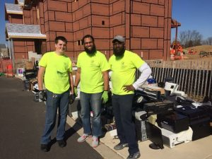 Staff and volunteers at PAR-Recycle Works
