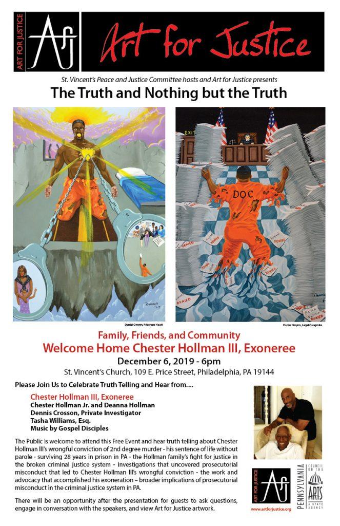 Chester Hollman Event Flyer