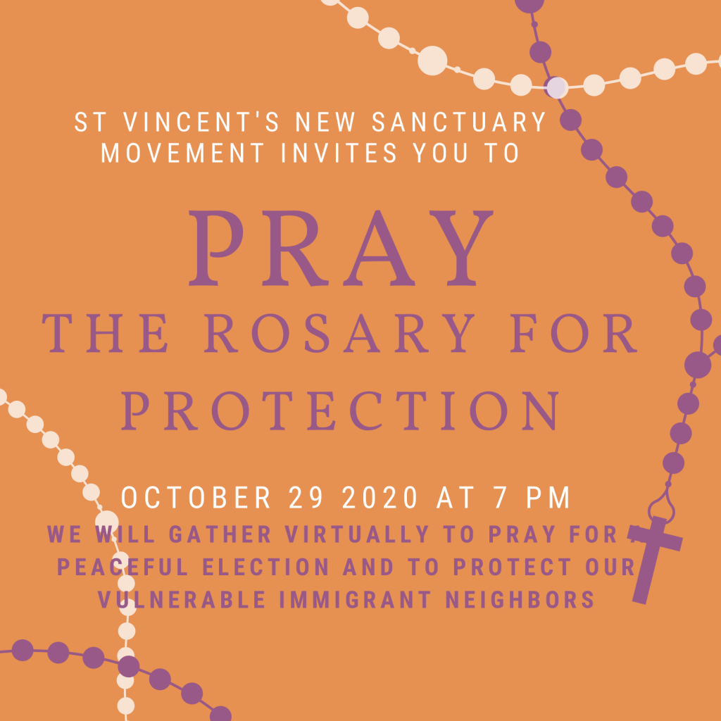 Pray the Rosary for Protection