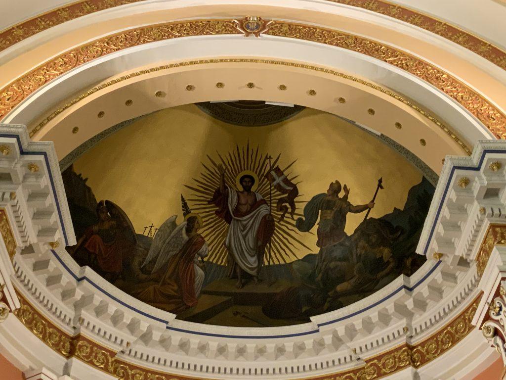 St. Vincent Parish Resurrection Mural